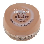 Maybelline maquillaje dream mat mousse 26 honey natural