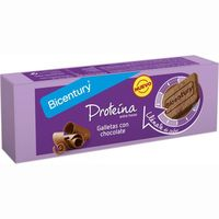 Bicentury galleta proteina chocolate de 144g.