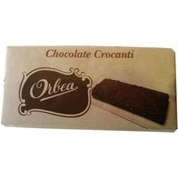 Orbea chocolate con leche crocanti tableta de 125g.