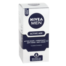 Nivea for men hombre active age balsamo 2en1 after shave hidratante antiedad de 75ml.