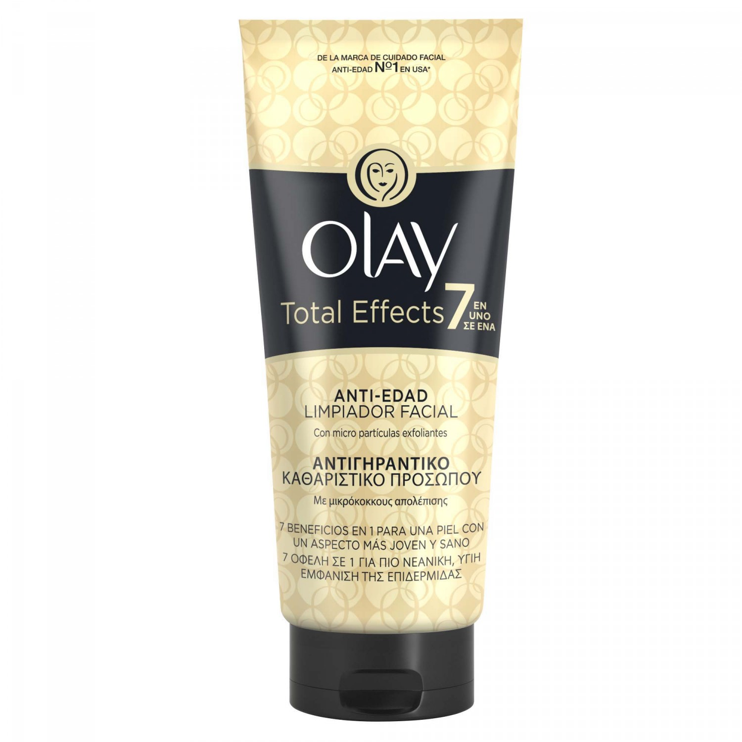 Olay tot effects gel limpiador 7 en 1 antiedad tubo de 15cl.