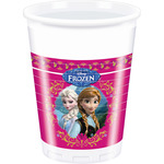 Frozen vaso decorado 8 de 20cl. en paquete