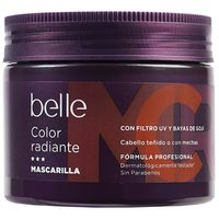 Belle mascarilla color radiante de 30cl. en bote