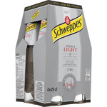 Schweppes tonica light de 25cl. por 4 unidades