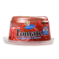 Tomate natural rallado, chanita, de 290g. en tarrina