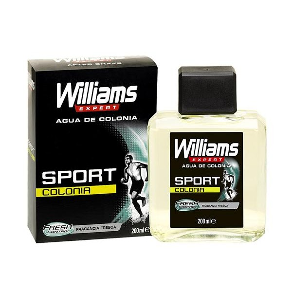 Williams expert sport agua colonia fragancia fresca de 20cl. en bote