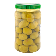 Aceituna gordal natural de 650g. en tarrina