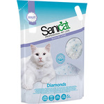 Sanicat professional diamonds perlas silice gatos envase de 5l.