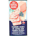 Royal chopped pork lonchas dane granel minimo de 50g. en lata