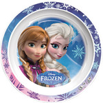 Frozen plato decorado llano 22 cm