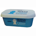 Hacendado queso untar blanco natural light de 300g. en tarrina