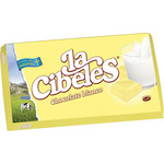 Cibeles chocolate blanco tableta de 75g.