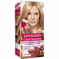 Garnier color sensation tinte rubio dorado nº 7 3 coloracion permanente intensa pincel gratis en caja