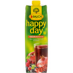 Rauch happy day zumo frutos rojos 100% multivitaminas envase de 1l.