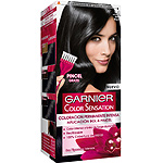 Color Sensation garnier tinte ultra negro nº 1 0 coloracion permanente intensa pincel gratis en caja