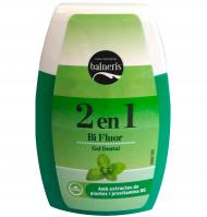 Balneris gel dental 2en1 bifluor de 10cl.