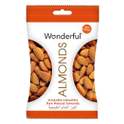 Wonderful almendras naturales de 115g.