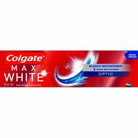 Colgate dentifrico max white one optic tubo de 75ml.