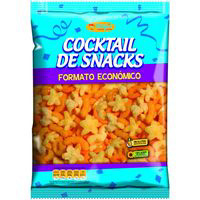 Aspil cocktail snacks ahorro de 250g.