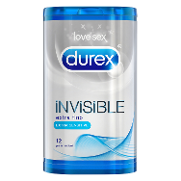 Durex preservativo invisible extrasensitivo love sex por 12 unidades