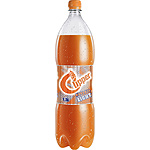 Clipper light refresco naranja de 1,5l. en botella