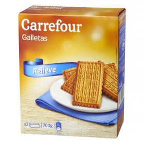 Carrefour galletas suprema de 700g.