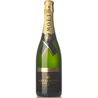 Moët & Chandon champgne grand vintage de 75cl. en botella