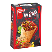 Findus wraps chilli con carne de 300g.