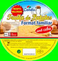 Condis tortilla familiar de 900g.