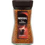 Nescafé cafe soluble natural puro colombia de 100g. en bote