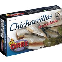 Orbe chicharrillo escabeche de 125g.