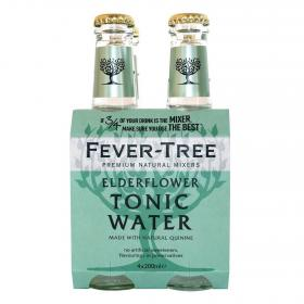 Fever Tree tonica elderflower de 20cl. por 4 unidades