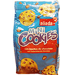 El Corte Ingles mini cookies con pepitas chocolate de 100g. en bolsa