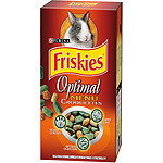 Friskies optimal menu croquettes conejo enano estuche de 400g.