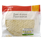 Eroski Basic base pizza de 250g. por 3 unidades