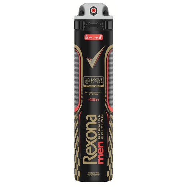Rexona desodorante hombre lotus f1 team de 20cl. en spray