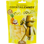 Candy cocktail ositos gominola sabor piña colada 0% alcohol estuche de 100g.