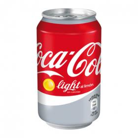 Coca Cola light al limon de 33cl. en lata