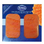 Royal lonchas solomillo salmon duo royal de 100g. por 2 unidades