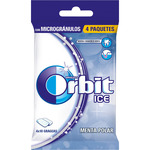 Orbit chicle ice menta polar de 14g. por 4 unidades