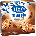 Hero muesly chocolate 6 de 25g.