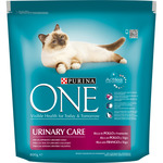 Purina One urinary care alimento especial gatos rico en pollo trigo un tracto urinario saludable envase de 800g.