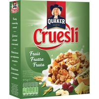 Quaker fruit de 350g.