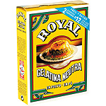 Royal gelatina neutra de 20g.