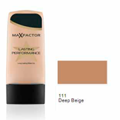 Max Factor base liquida lasting performance 111 deep beige