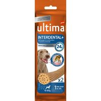 Ultima dog snacks interdental medium trial de 60g. por 22 unidades