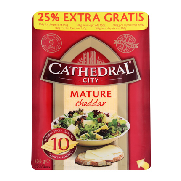 Cathedral City lonchas cathedral de 160g.