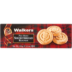 Walkers shortbread rounds galletas mantequilla estuche de 150g.