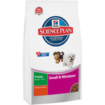 Hill's Science plan puppy mini nutricion superior cachorros raza mini con pollo de 1,5kg. en paquete