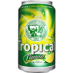 Tropical limon cerveza con limon natural de 33cl. en lata